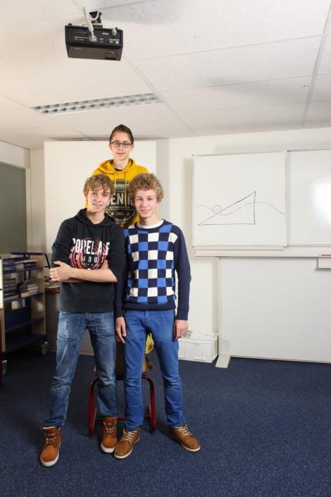Bart, Wouter en Robert