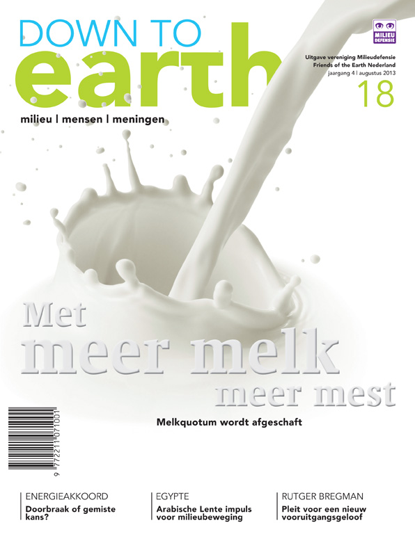 Cover van Down to Earth 18 (aug 2013)