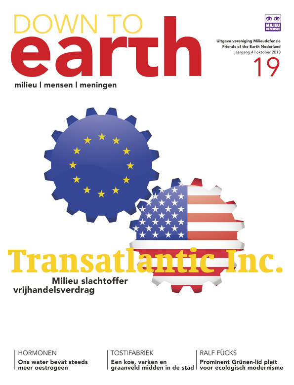 Cover van Down to Earth 19 (okt 2013)