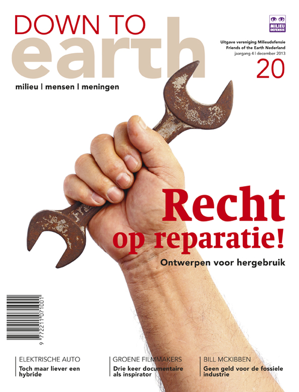 Cover van Down To Earth 20 (dec 2013)