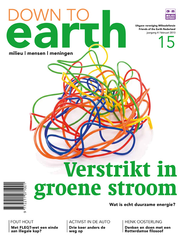 Cover van Down to Earth 15 (febr 2013)