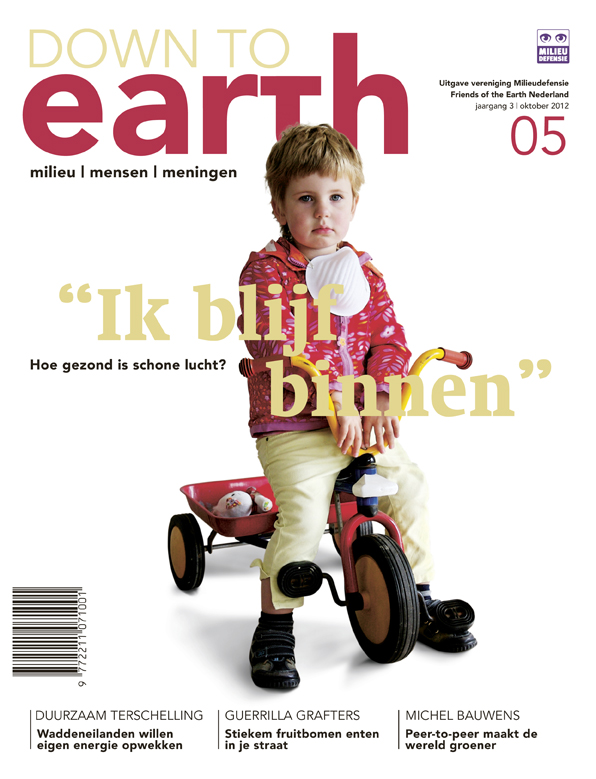 Cover van Down to Earth 13 (okt 2012)