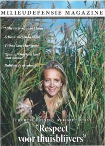 Cover Milieudefensie Magazine juni 2008