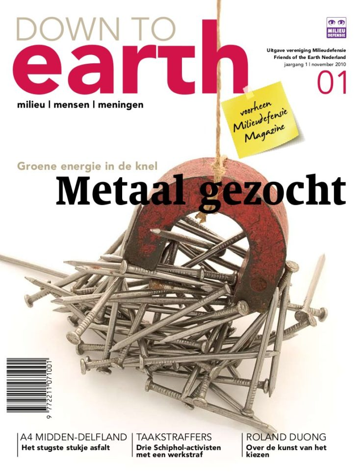 Cover van Down to Earth 01 (okt 2010)