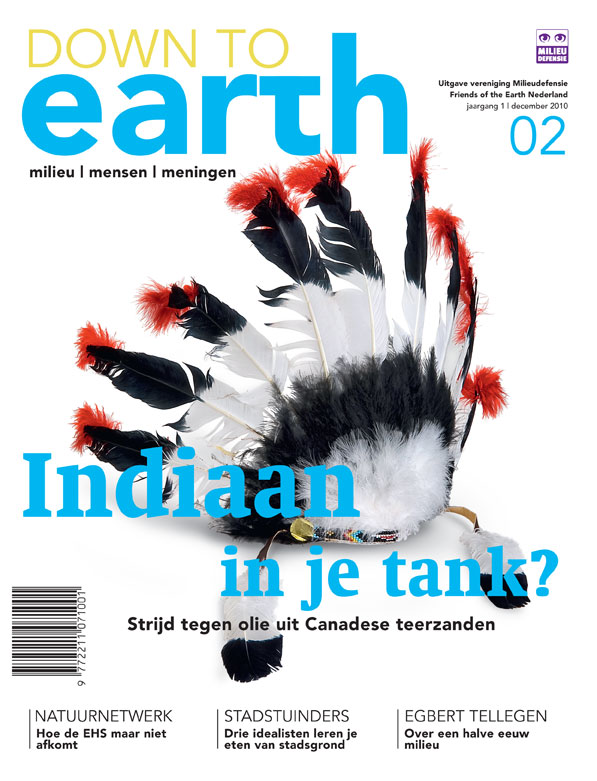 Cover van Down to Earth 02 (dec 2010)