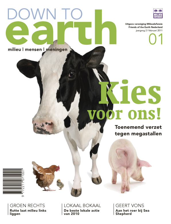 Cover van Down to Earth 03 (feb 2011)