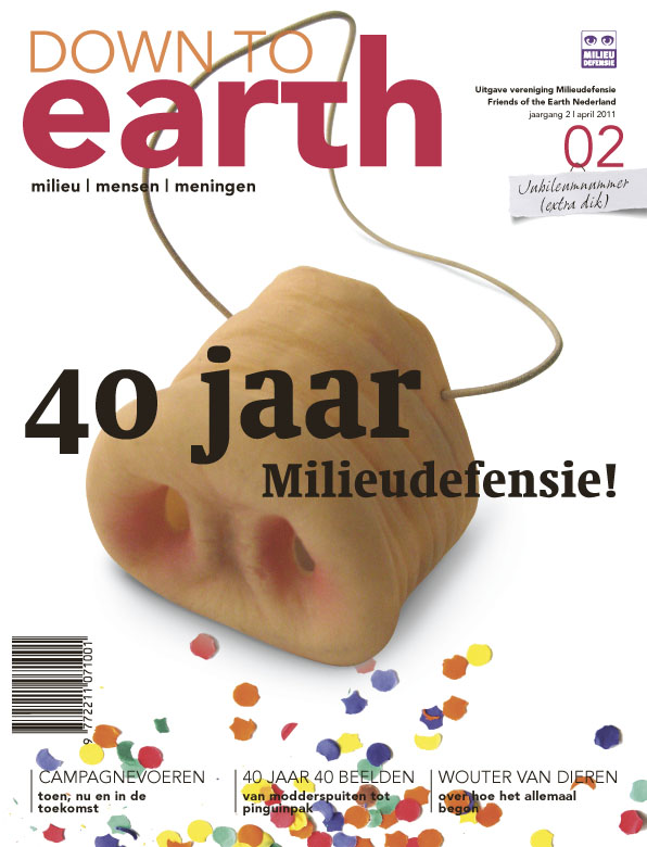 Cover van Down to Earth 04 (apr 2011)