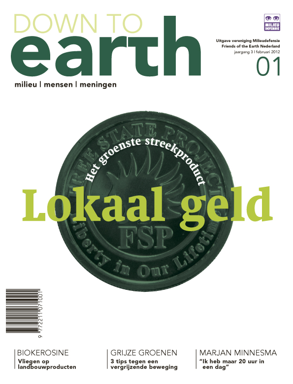 Cover van Down to Earth 09 (feb 2012)