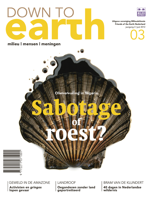 Cover van Down to Earth 11 (jun 2012)