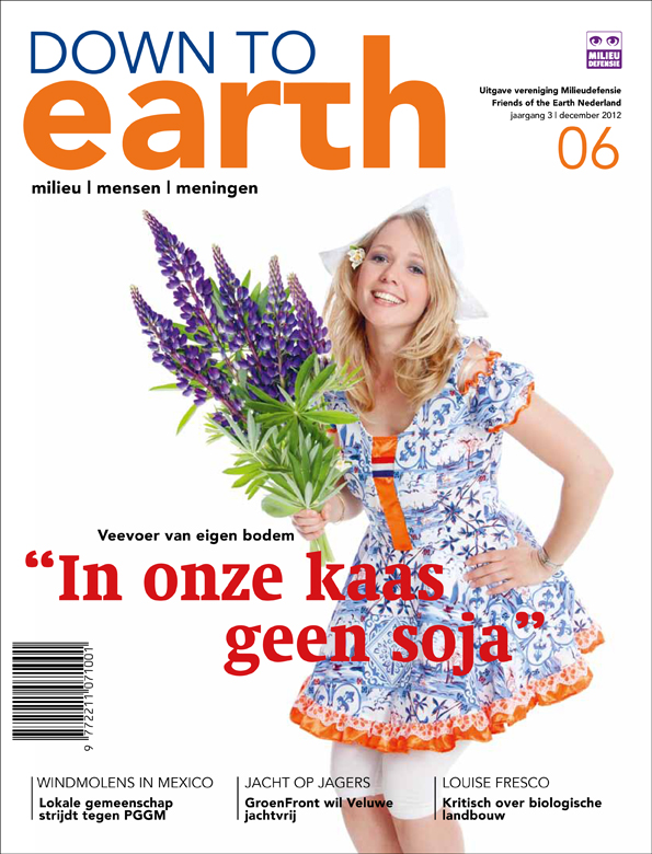 Cover van Down to Earth 14 (dec 2012)