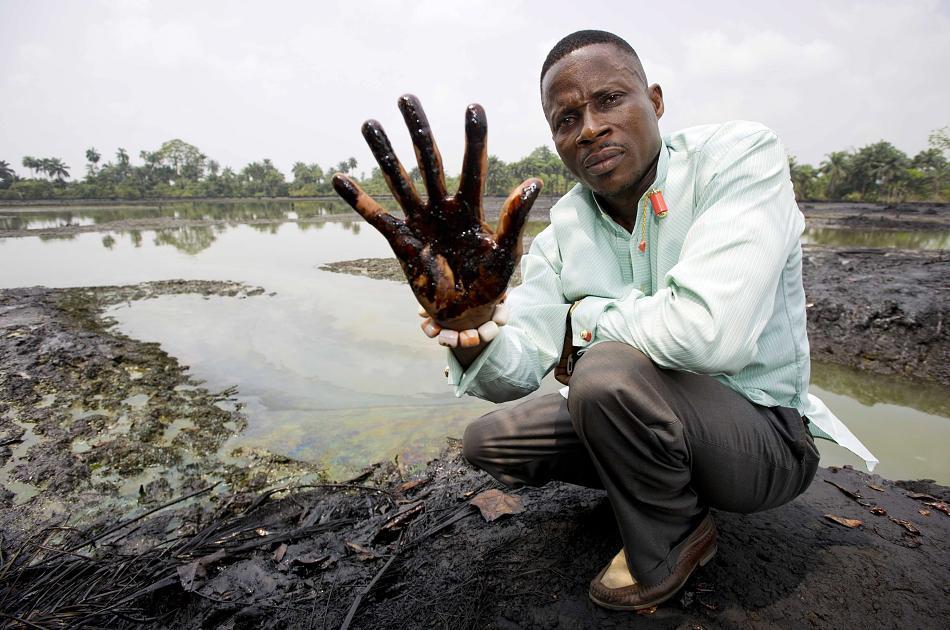 Milieustrijd in Nigeria