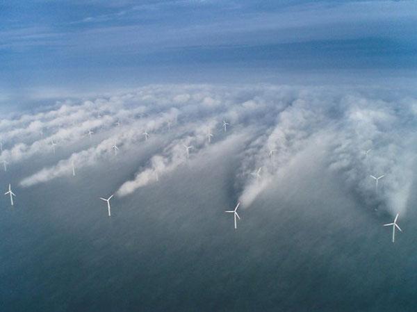 Windturbines verstoren klimaat