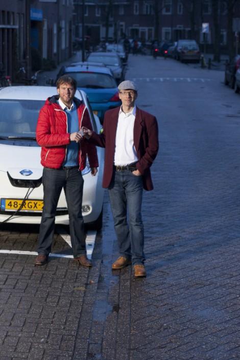 Louis van den Heuvel en Marc Graetz,