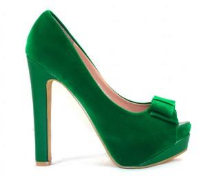 Groene schoenen