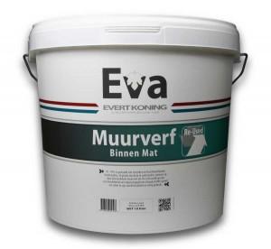 Eva hergebruikte muurverf
