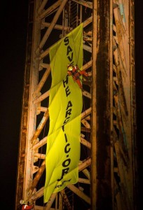 Greenpeace-actie IJmuiden