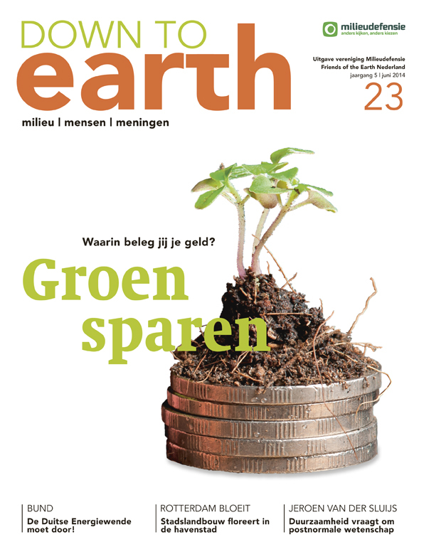Cover van Down to Earth 23 (juni 2014)