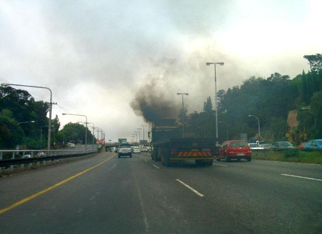 Luchtvervuiling verkeer