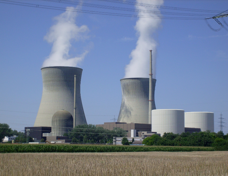 RWE kerncentrale Gundremmingen