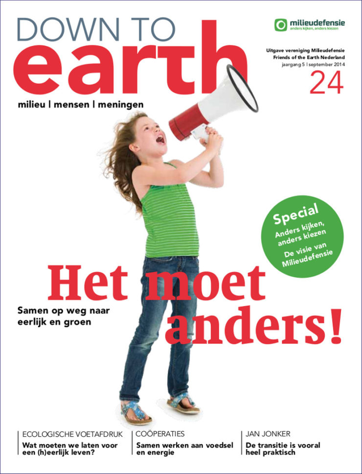 Cover van Down to Earth 24 (sep 2014)