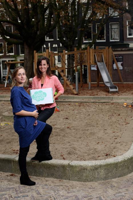 Tamara Hijl en Anna Schoemakers