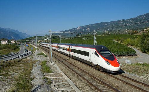 De EuroCity Genève-Venetië. Foto: Wikipedia Commons.