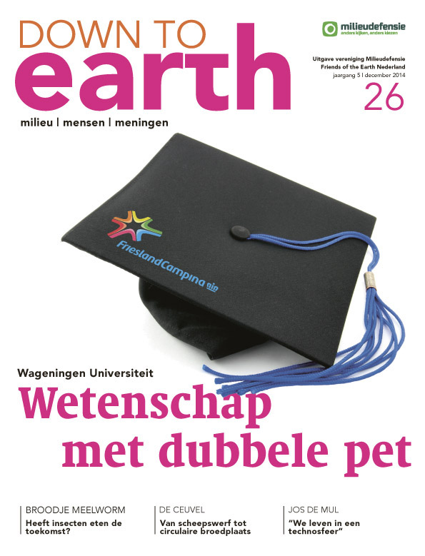 Cover van Down to Earth 26 (dec 2014)