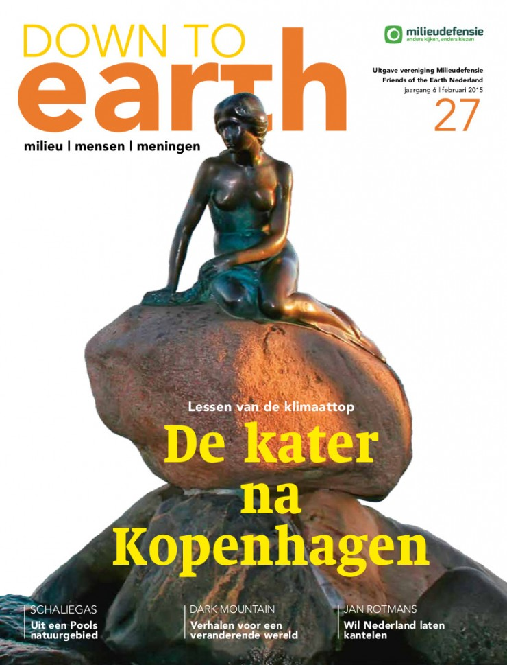 Cover van Down to Earth 27 (feb 2015)