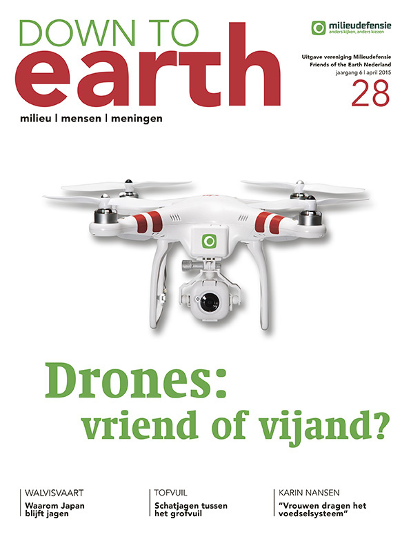 Cover van Down to Earth 28 (april 2015)
