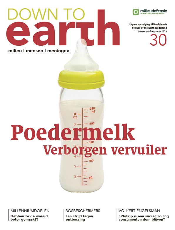 Cover van Down to Earth 30 (augustus 2015)