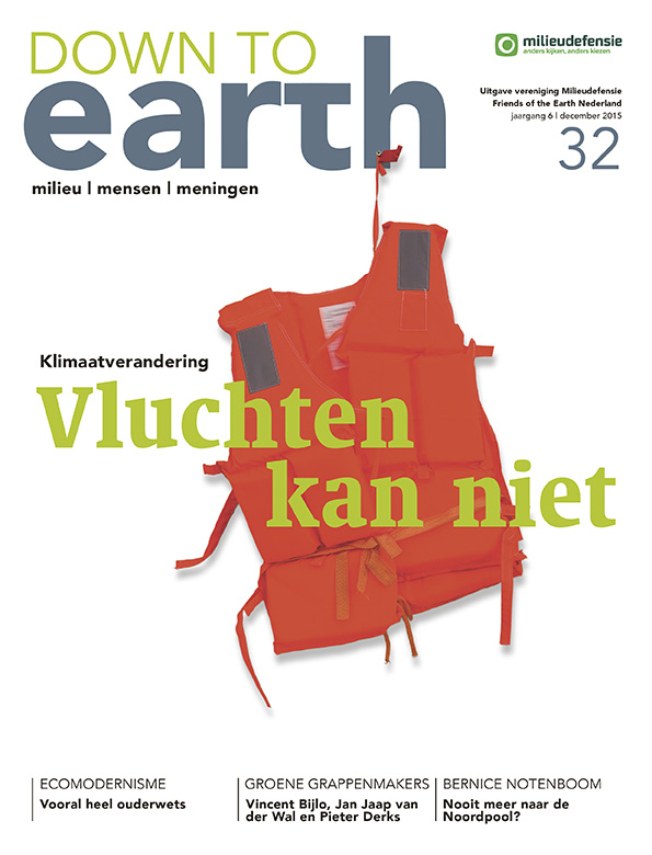 Cover van Down to Earth 32 (december 2015)