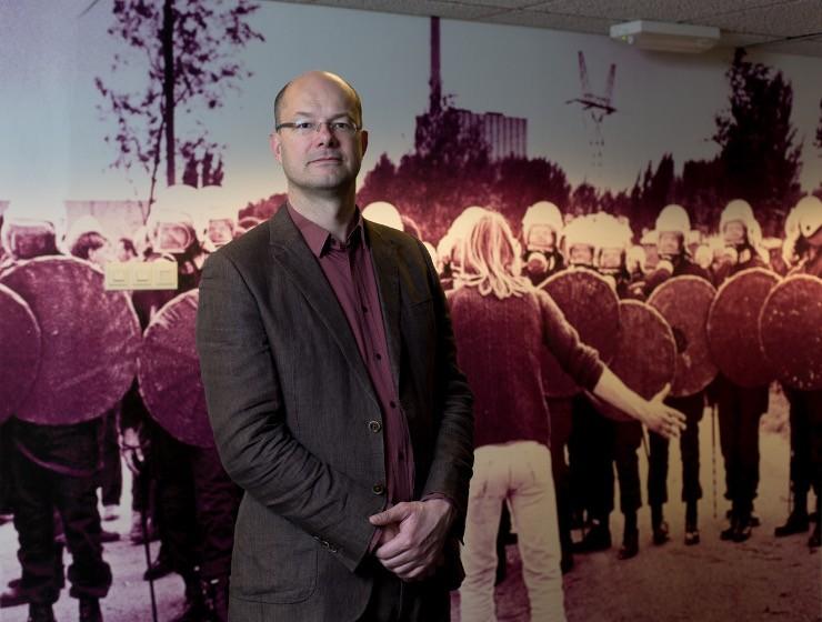 Beeld: Dinand van der Wal / Donald Pols directeur Milieudefensie