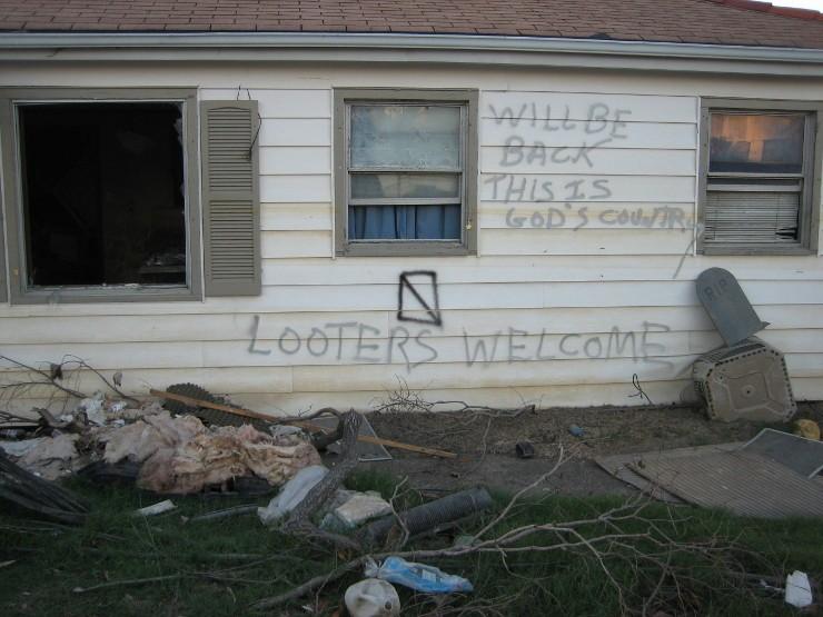 Saint Bernard na orkaan Katrina. Beeld: Wikimedia, Infrogmation