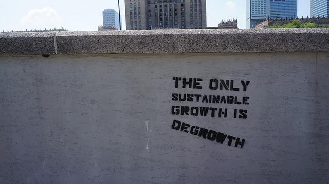 Beeld Pixabay ontgroeien degrowth