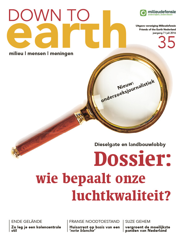 Cover van Down to Earth 35 (juni 2016)
