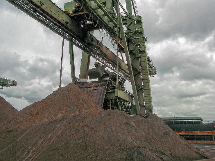 De Rotterdamse kolenhaven. - Beeld: Flickr CC BY Frans Berkelaar