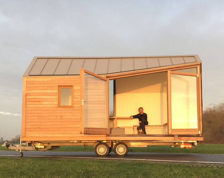 Tiny houses grote liefde voor kleine huisjes down to for Tiny house movement nederland