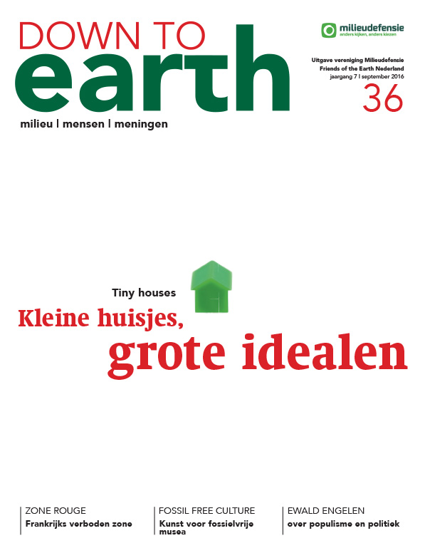 Cover van Down to Earth 36 (september 2016)
