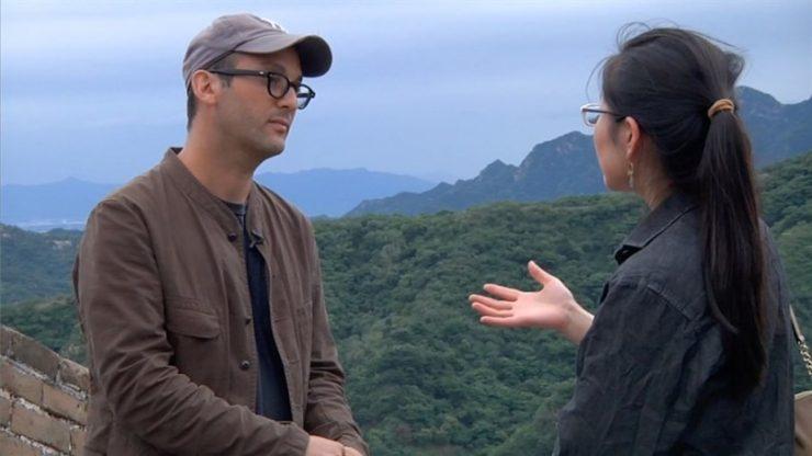 Sleutelmoment Josh Fox-op-de-Chinese-muur