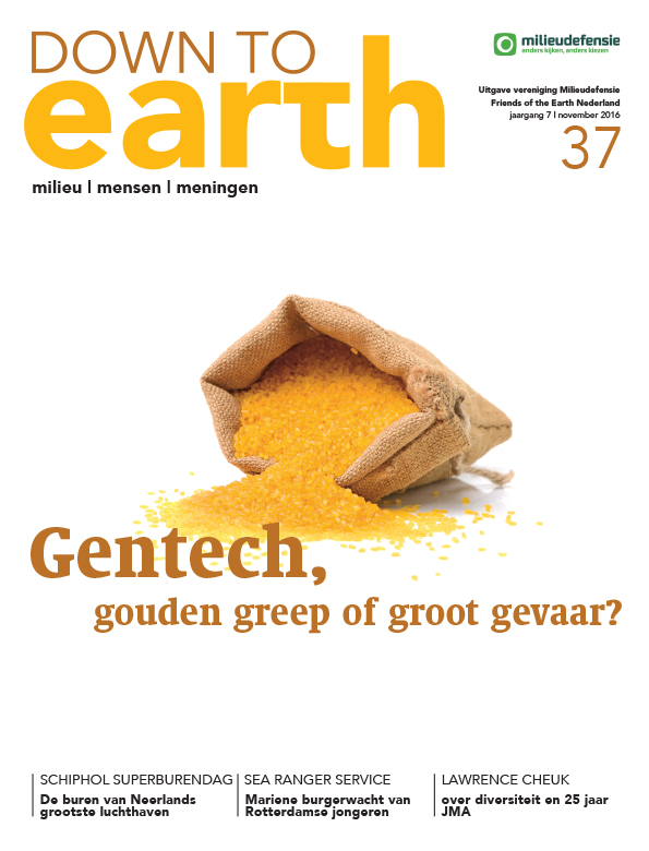 Cover van Down to Earth 37 (november 2016)
