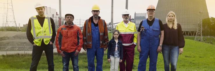 Beeld: CorporateTrailer FNV vakbond kolencentrales