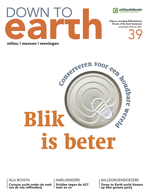 Cover van — Down to Earth 39 (februari 2017)