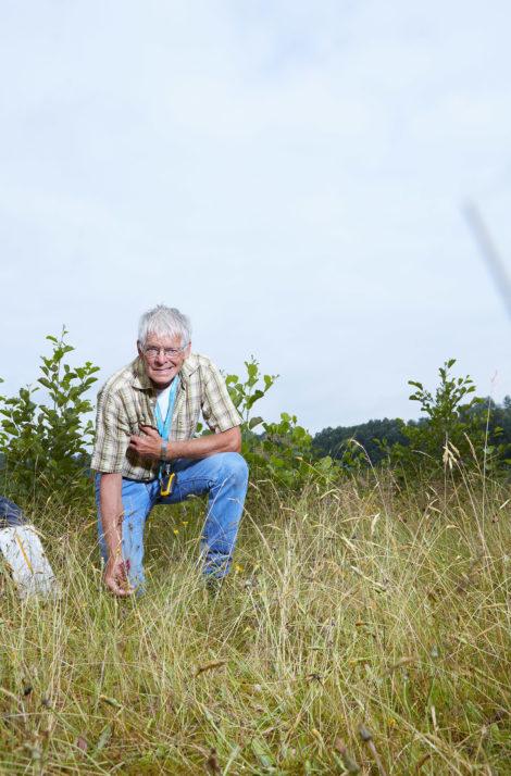 Tellen helpt: Egbert de Boer telt het héle jaar door planten