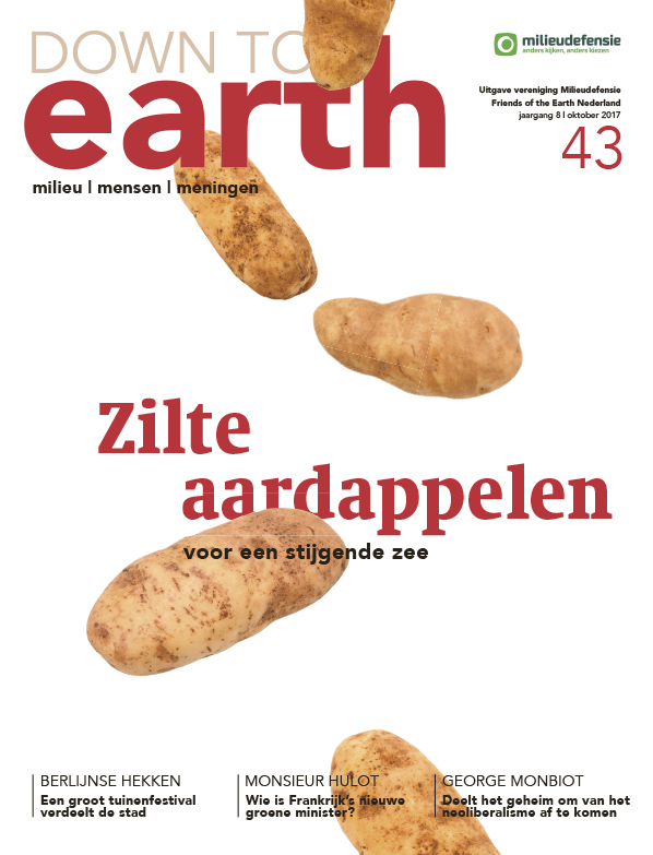 Cover van — Down to Earth 43 (oktober 2017)