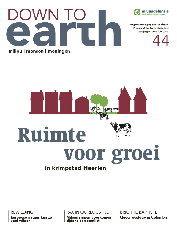 Cover van — Down to Earth 44 (december 2017)