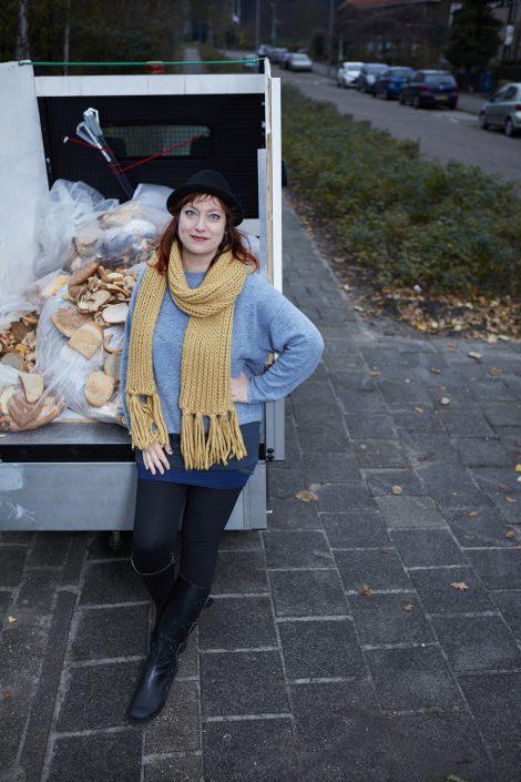 Voorkom Voedselverspilling: Paula Zwitser zamelt brood in voor energie