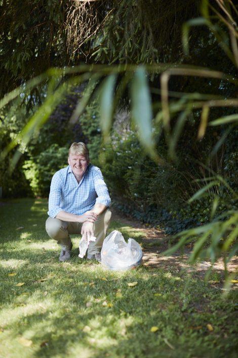 Plastic tegenhouden bij de bron: Eric van Slooten ontwikkelde een wasfilter voor microplastics