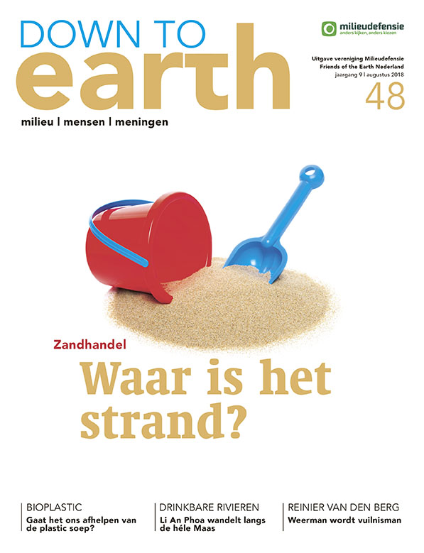 Cover van — Down to Earth 48 (augustus 2018)
