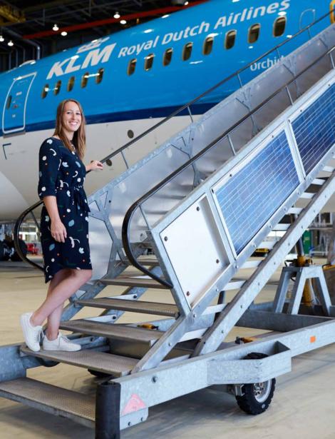Van binnenuit: Remona van der Zon en KLM