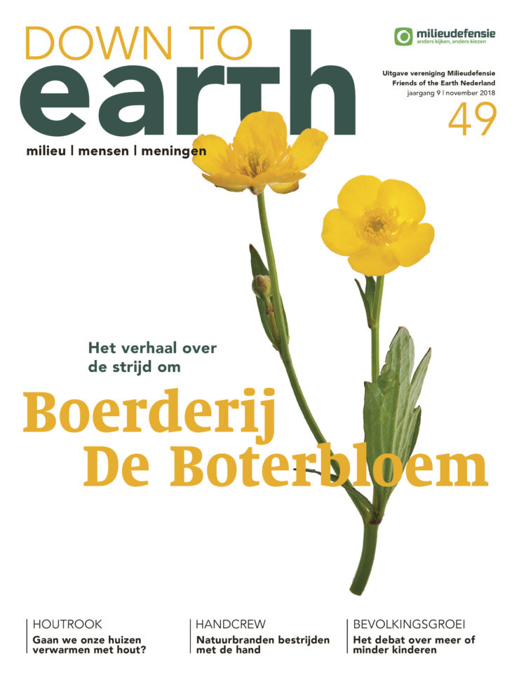 Cover van — Down to Earth 49 (oktober/november 2018)